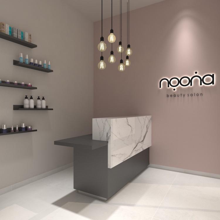 Noona beauty salon reception